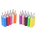 2pcs Universal Travel USB charger EU Plug Wall Charger 5V AC USB Power Adapter For Iphone