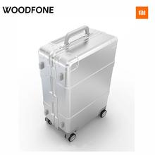 Newest Original Xiaomi 90 Intelligent Bluetooth metal luggage Spinner Wheel Luggage Travel Suitcase Luggage Travel Bag(China (Mainland))