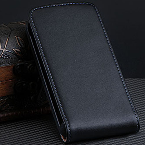 3GS Capa Luxury Korean Style Genuine Leather Case For Apple iPhone 3G 3GS Vintage Vertical Magnetic Flip Cover Free Shipping Bag(China (Mainland))