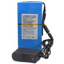 High Quality D C 12V 20000mAh Li-ion Super DC 12V Rechargeable Battery Pack + AC Charger US/EU Plug(China (Mainland))
