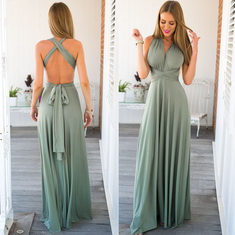 Long Summer Dresses For Women Photo Album - Reikian