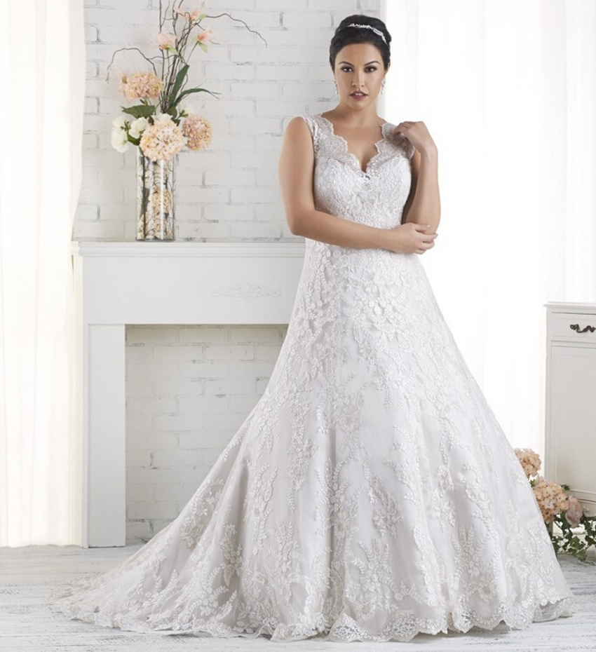Elegant tulle romantic cheap plus size vintage ball gown for Vintage wedding dresses plus size