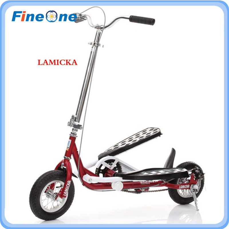 Folding bicycle children adult students scooter foldable bike training bicycle double pedal riding bike for bodybuliding(China (Mainland))
