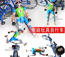 bikes electric bicycles electric-driven toys with music and lighting model bicycle toys ride wholesale retail(China (Mainland))