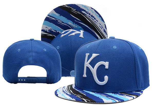 Cheap Snapbacks 2015 Brand New Kansas City Royals Baseball Caps for Men Women Blue Hats with Stripe Brim Adjustable Cap Hat(China (Mainland))