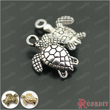 Buy , 2694830PCS 16*13MM Antique Silver Zinc Alloy Animal Sea Turtle Charms Pendants Diy Jewelry Findings Accessories Wholesale for $2.03 in AliExpress store