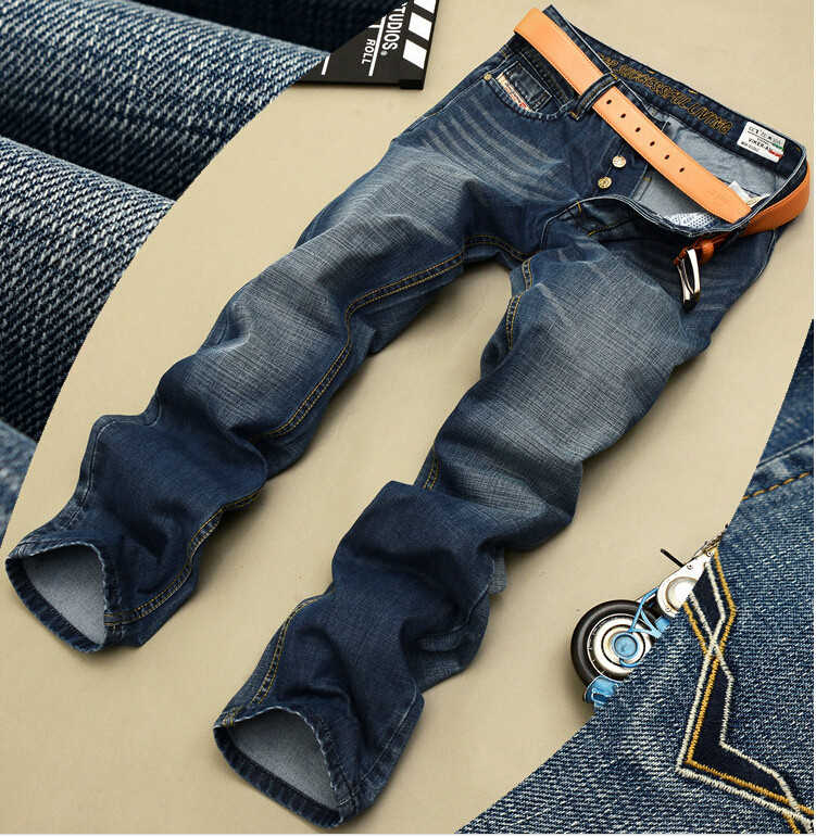 Hot sale!2016 men fashion straight Jeans classic denim dieselers trousers fall winter Men Jeans,high quality cotton jeans Slim(China (Mainland))
