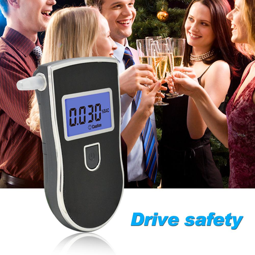 Лучшие продажи цифровой синий жк-цифровой спирта алкотестер и 10 мундштуки с руководство пользователя