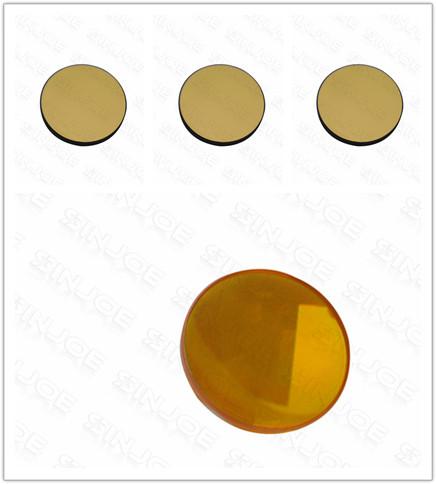 Free Shipping Co2 Laser Focus Lens U.S Materials 20mm Dia 1Pcs+ Co2 Laser Reflection Mirror Si Materials 25mm Dia 3Pcs(China (Mainland))