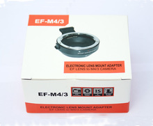 EF-MFT Electronic Aperture Control Lens Mount Adapter for Canon EF EF-S to Olympus E-P1 P2 3 Panasonic LUMIX GH2/3/4 M4/3 Camera