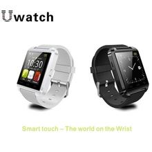 2015 новое U8 Bluetooth беспроводной умный часы наручные часы U часы для IOS и Andriod смартфоны поддержка синхронизации вызова сообщение