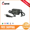 10PCS FREE SHIPPING KEEPER 12V1 25A New Products AC240V Converter Adapter DC 1 25A Power Supply