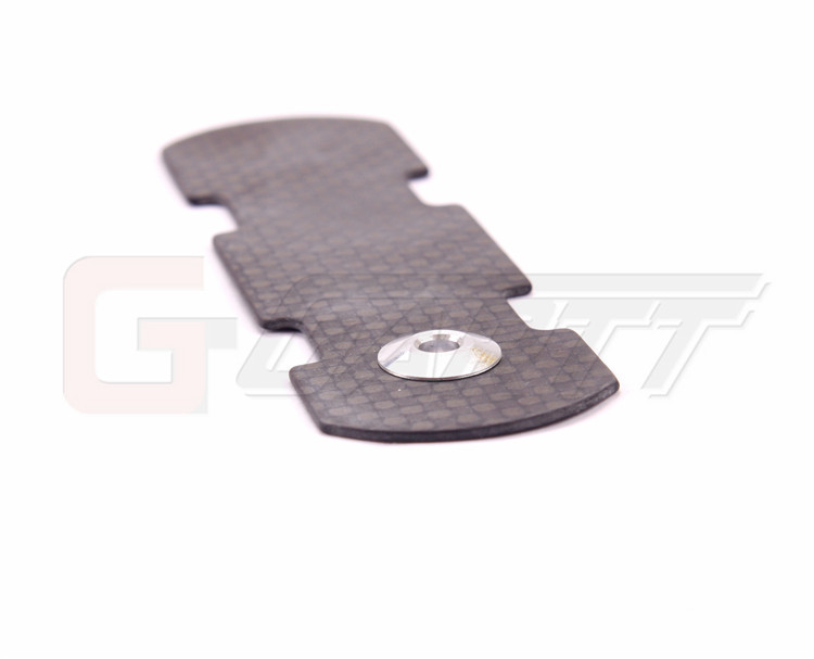 Freeshipping GARTT GT450L CF carbon fiber battery tray For Align Trex RC Helicopter(China (Mainland))
