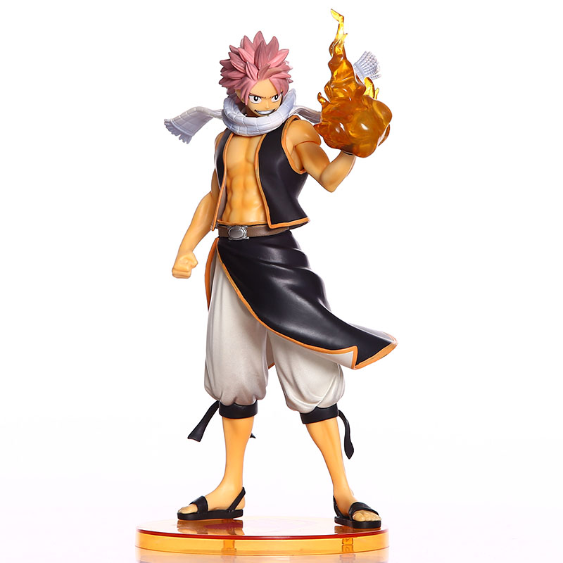 buy anime fairy tail pvc figure model retail natsu lucy gray elza toy action figures toys fairy. Black Bedroom Furniture Sets. Home Design Ideas