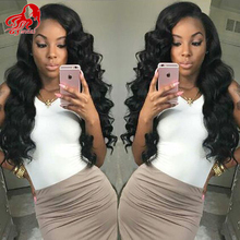7A Brazilian Hair Full Lace Human Hair wigs Brazilian Body Wave Lace Front Wig Glueless Full Lace Wig for black women(China (Mainland))