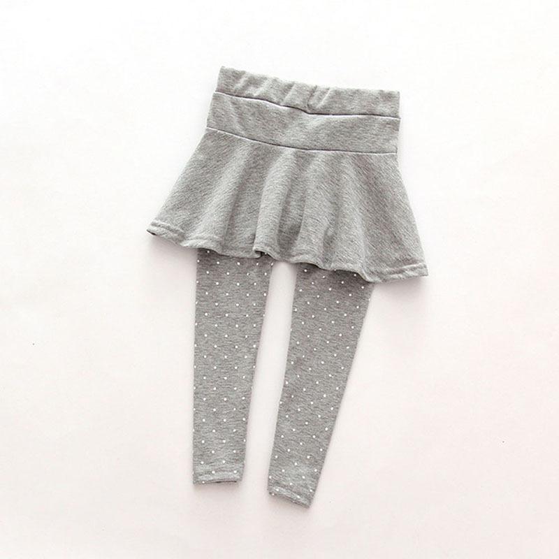 Hot new arrival New Baby Kid Pantskirt Girl Wool Culotte Pants Child Legging Trousers Dress