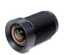 [Factory Direct]4.35MM Lens 1/2.3 Inch 10MP IR 72D HFOV No Distortion for Gopro DJI Phantom Drones SJCAM Camera cctv lens(China (Mainland))