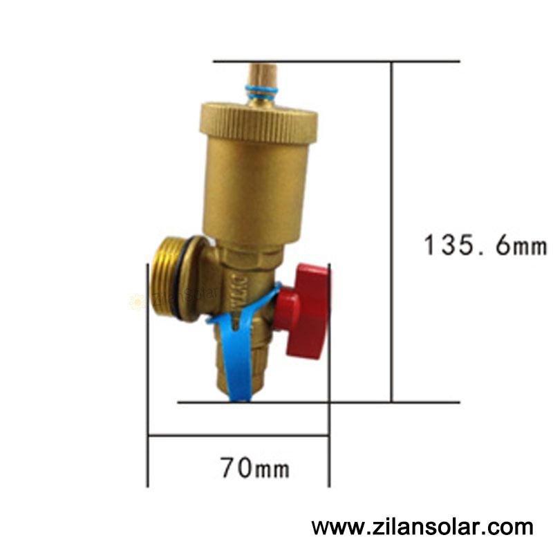 U Type Chrome Electric Water Heater Mixing Valve Single: Popular Exhaust Diverter Valve-Buy Cheap Exhaust Diverter