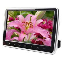 2016 New Hot 10.1 Inch HD TFT LCD Screen Car Headrest Monitor DVD/USB/SD HDMI Player FreeShipping&Wholesale(China (Mainland))