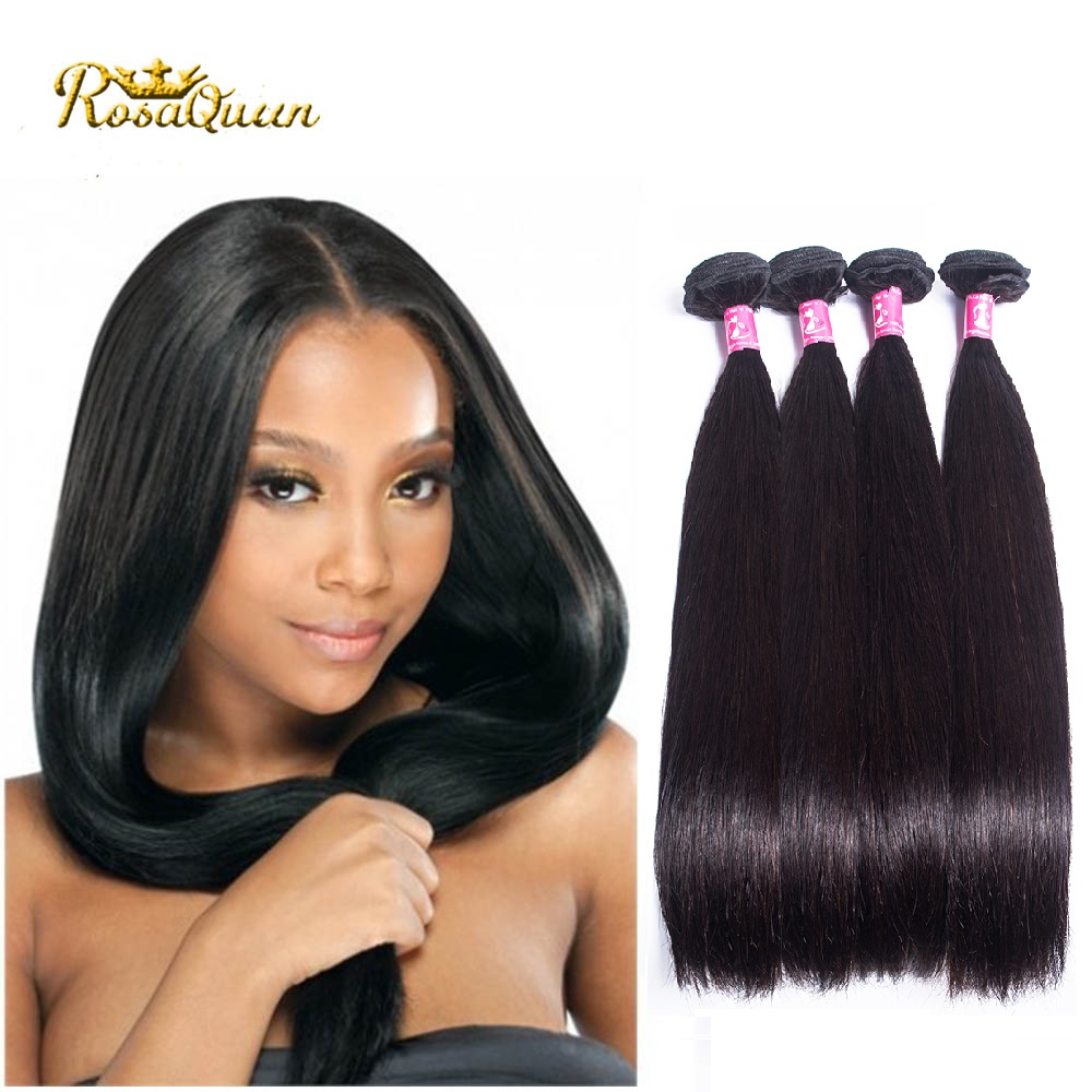 Brazilian Virgin Hair Straight Tissage Bresilienne Lots 4 Bundle Deals Cheap Human Hair Grade 7a Unprocessed Virgin Hair bundles