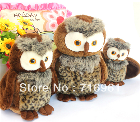 30cm Original Genuine RUSS owl doll plush stuffed toy doll birthday gift holiday explosion models(China (Mainland))