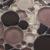 Black mix color  Circle  crystal glass mosaic tile for kitchen backsplash ,bedroom decoration MC001