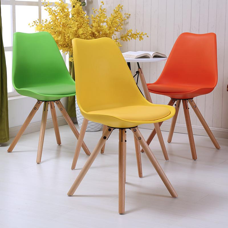 Compra moderna silla de pl stico online al por mayor de for Mobiliario ergonomico