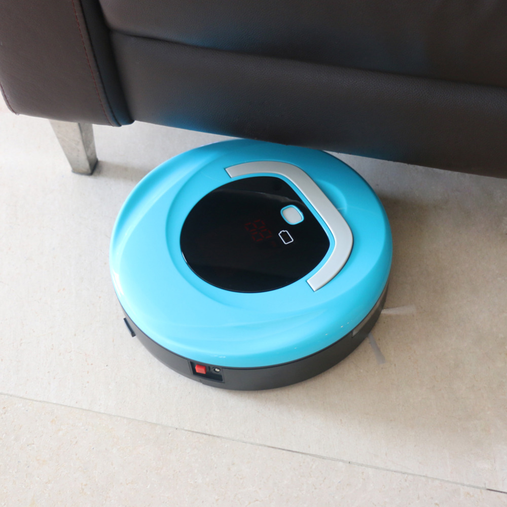 Automatic Vacuum Cleaning Robot, Robot Vacuum Cleaner Floor Cleaner For Hard Floors Thin Carpets(China (Mainland))