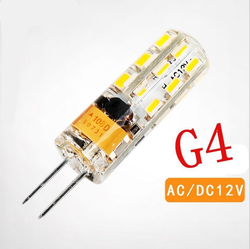 360 Beam Angle LED Spotlight High Power SMD 3014 3W 6W 12V G4 LED Lamp Replace 20W - 50W halogen lamp g4 led 12v AC/DC Common 2(China (Mainland))