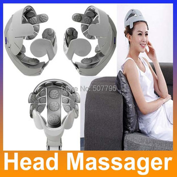 New Humanized Design Electric Head Massager Healthcare Head Health care Spa Massage Relax Easy body Brain Acupuncture Points