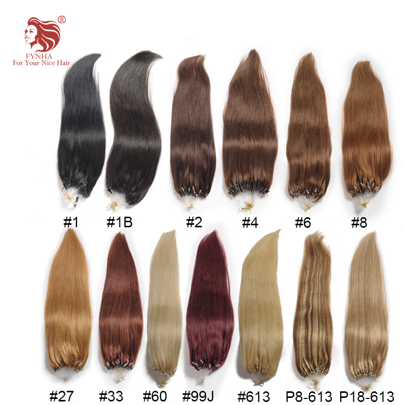 Free shipping 100g/pac silk straight micro ring hair extensions grade 6A 100% remy human hair 18''-24'' 100s can be customized(China (Mainland))