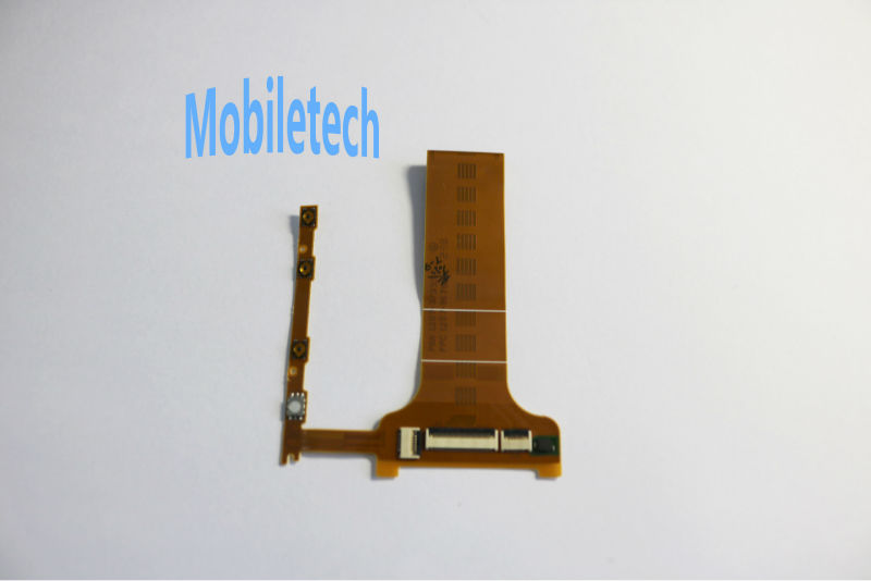 5 pieces/pack High Quality for Sony Xperia T Motherboard Side Keys Flex Cable Replacement for Sony Xperia T / LT30p(China (Mainland))