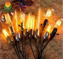Vintage Antique Retro 40W 110V-240V Edison Light Bulb E27/E26 Incandescent Light Bulbs/Filament Bulb Edison Lamp,ST64,G80,A19...(China (Mainland))