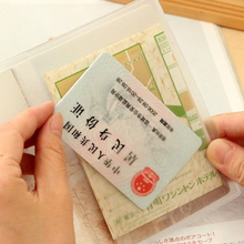 Japan Transparent Passport Cover Waterproof Passport Bags Passport Protective Sleeve