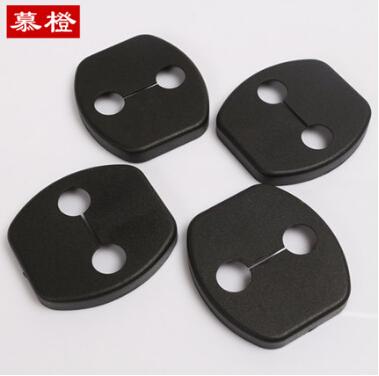 free shipping Car door lock protection cover for Nissan x-trail qashqai SUNNY TIIDA LIVINA TEANA Koleos 4pcs/set(China (Mainland))