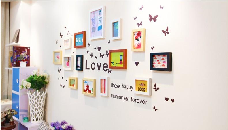 Multi Frame Wall Art online buy wholesale photo framed wall art from china photo framed