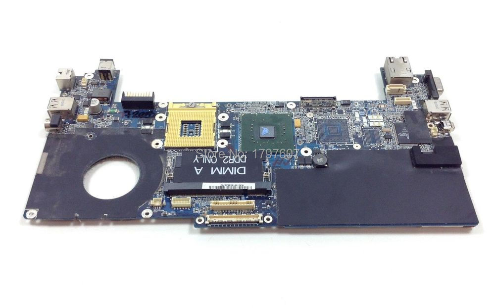 0GU059 For Dell XPS M1210 GU059 945GM Laptop System board Motherboard Fully Tested(China (Mainland))