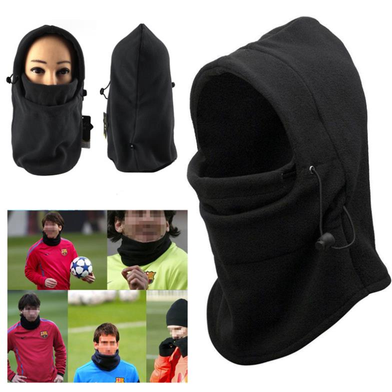 Hot Sale Thermal Fleece Balaclava Hood Police Swat Ski Bike Wind Winter Stopper Face Mask HW01006