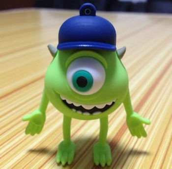 Cartoon One-eyed monster Model USB 2.0 Flash Memory Pen Drive Stick 1-32GB Ub43