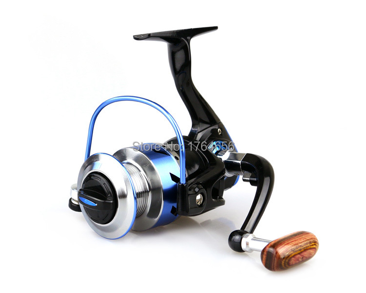 Free Shipping Pesca High quality 4000 series 5.1:1 9BB Pre-Loading Spinning Reel Fishing Reels ice fishing Gear Spinning(China (Mainland))