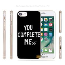 Complete Mess Transparent Case Cover apple iphone 4 4s 5 5s SE 6 6s 7 7s plus i4 i5 i6 i7 - AlexMohoo Store store
