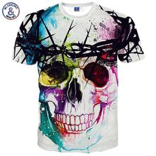 Buy Mr.1991INC New Fashion Brand T-shirt Hip Hop 3d Print Skulls Harajuku Animation 3d T shirt Summer Cool Tees Tops Brand Clothing for $9.08 in AliExpress store