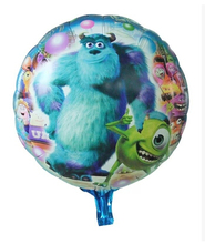 P1201 nuevo 10 unids/set Monsters University hoja hincha chlidren juguetes clásicos Monsters universidad la fiesta de cumpleaños decoración balón de oro