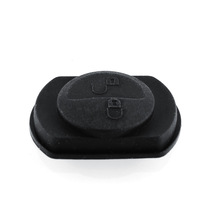 New 2 Button Car Vehicle Key Keyless shell FOB Rubber Pad Replacement For Mitsubishi Colt Warrior Black(China (Mainland))