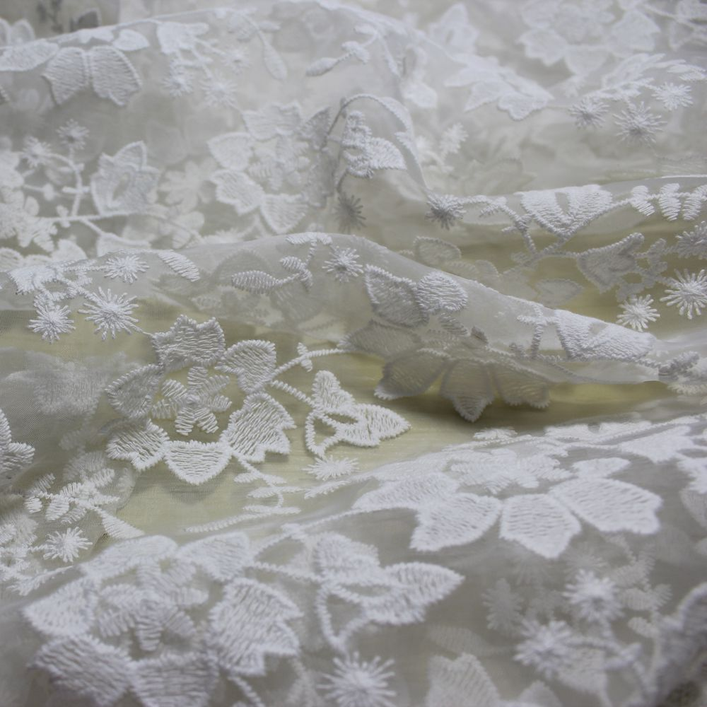 Buy lace fabric wedding dress organza for French lace fabric for wedding dresses