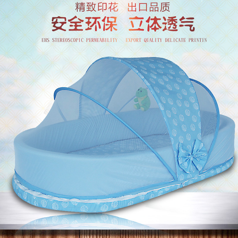 Baby's Folding Bed : Baby-crib-bb-travel-bed-multifunctional-portable-folding-baby-bed-game ...