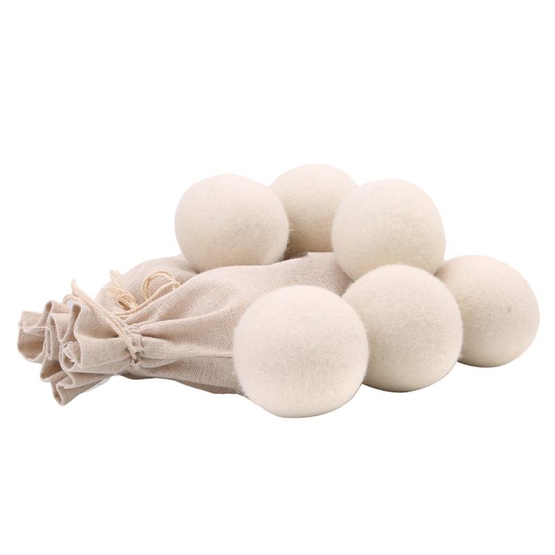 3PCs/Lot Laundry Clean Ball Reusable Natural Organic Laundry Fabric Softener Ball Premium Wool Dryer Lavanderia Washing Ball(China (Mainland))