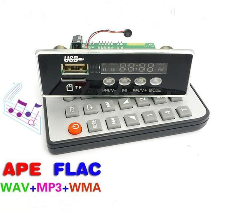 Bluetooth call APE decoder board MP3 decoder board Car lossless MP3 decoder USB computer sound card(China (Mainland))