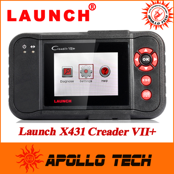 2015 New Original Auto Code Reader 7+ Launch X431 Creader VII+ Equal To CRP123 Creader VII Plus Update Via Offical Website(China (Mainland))