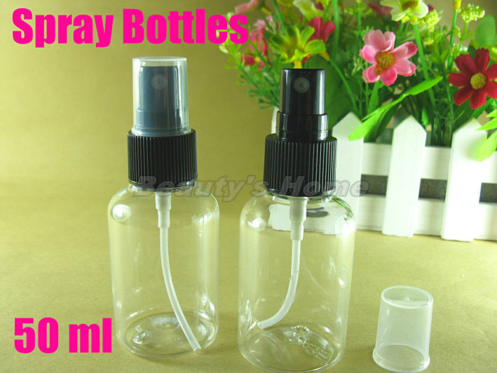 50ml spray bottle perfume bottle make up container small/empty bottles free shipping wholesale #1670(China (Mainland))